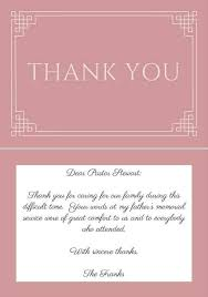 Thank You Note Example New 44 Best Funeral Thank You Cards Good To Know Pinterest