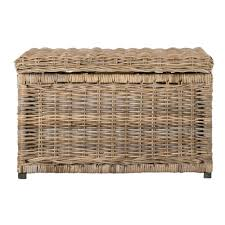 wicker storage chest. Wonderful Wicker Natural Wicker Storage Trunk Inside Chest I