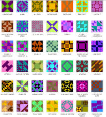 Preview the Online Quilt Block Pattern Library at Blockcrazy.com & Planet Signs Applique Quilt Block Patterns. Diamonds in Squares Collection.  Ladies Art Company Collection Adamdwight.com