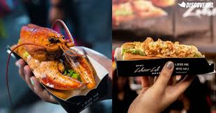 move over burger lobster lobster rolls are now available in pasar malams from rm19
