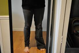 Make Pants How To Make Skinny Jeans From Wide Legged Jeans For