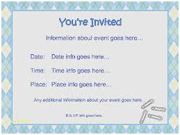 Free Microsoft Word Invitation Templates Mesmerizing Baby Shower Invitation Template Word Unique Free Baby Shower