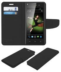 Xolo Q600s Flip Cover by ACM - Black ...