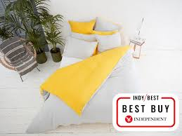 sizes double king super king set includes fitted sheet two pillow cases duvet cover machine wash 40