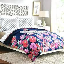 vera bradley comforters queen flower garden 3 full comforter set fl pink s