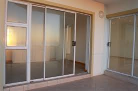 exciting patio door with aluminium frame clear glass sliding doors design