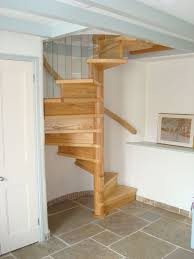 hand built wooden spiral staircases
