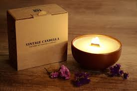 we use organic wooden wicks when burning wooden wicks emit soothing ling and pleasant aroma our wooden wicks it is 100 environmentally friendly