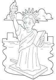 Small Picture 25 Statue Of Liberty Coloring Pages With Page creativemoveme