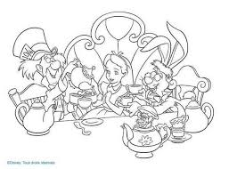 Small Picture Alice in Wonderland coloring pages 18 free Disney printables for