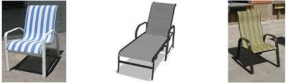 patio furniture repair and refinishing