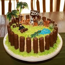 עוגת חיות ג'ונגל