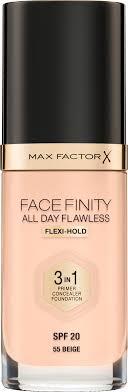 "Max Factor <b>Тональная основа</b> 3в1 ""<b>Facefinity All</b> Day Flawless ..."