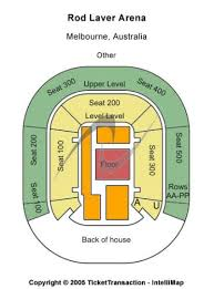Melbourne Rod Laver Arena Seating Chart Rod Laver Arena Tickets And Rod Laver Arena Seating Chart