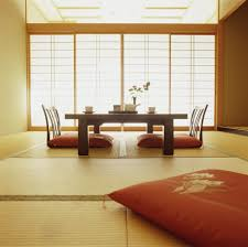 Low Chairs Living Room Japanese Traditional Wall Decorations Interior Design Ideas Room