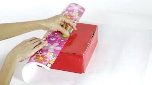 How To Wrap A Gift Box Storage Container97