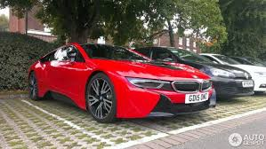 bmw 2015 i8 red. Delighful Red Red BMW I8 Photo Session In UK Inside Bmw 2015 I8 A