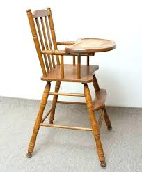 ed bauer high chair wooden high chair step 2 furniture wooden high chair wooden high chair