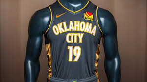 Okc New Jersey Design Thunder Release New Uniforms To Commemorate 25th Anniversary