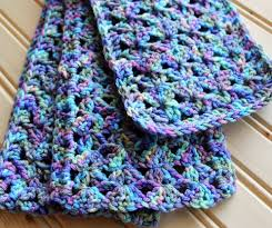 Double Crochet Scarf Patterns Delectable Beginner Double Crochet Scarf Corn Maiden
