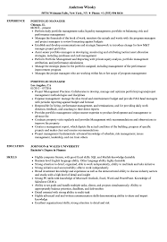 Portfolio Manager Resume Sample Portfolio Manager Resume Samples Velvet Jobs 8