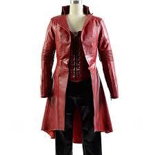 elizabeth olsen scarlet witch coat