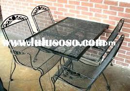 mesh patio table iron mesh patio furniture unique metal patio set and metal mesh patio furniture
