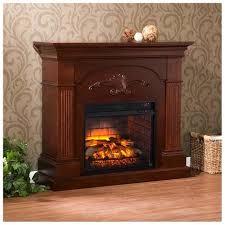 southern enterprises sicilian harvest electric fireplace mahogany 0