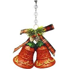 Bell S Trim And Design Glitter Red Bells Ornament Box Of 3 Magnetic Christmas