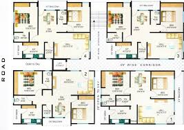 3 Bedroom Apartment Plans India  NrtradiantcomModern Apartment Floor Plans