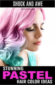 On A Whim Pastel Hair Color