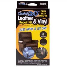 restor it s leather vinyl repair kit no heat furniture tables chairs on carou