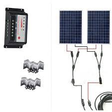 <b>Kit Zonnepaneel 12 volt</b> 200 watt <b>Solar</b> Charge Cootroller <b>12v</b>/24v ...