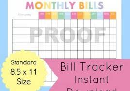 bill organizer template home finance bill organizer template monthly organizer asafon ggec