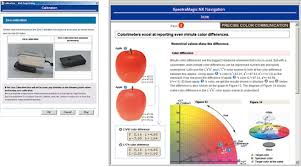 Gardner Color Scale Chart Spectramagic Nx Konica Minolta Color Light And Display