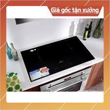 Bếp điện từ đôi lắp âm Bluestone ICB-6831 Hàng chính hãng