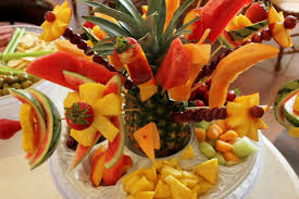 How To Decorate Fruit Tray Decoration Fruit fruit decorations pineapple palm fruit 93