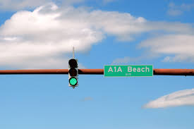 Blue Traffic Light In Florida Traffic Light Signal Green Direction A1a Free Photo
