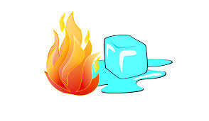 Image result for fire & ice