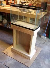 diy 20 gallon long aquarium stand do it your self soccer team