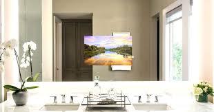 tv mirror bathroom bright bathroom lighted waterproof mirror tv bathroom tv mirror bathroom