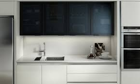 contemporary kitchens. Feature Black Glazed Contemporary Kitchens N