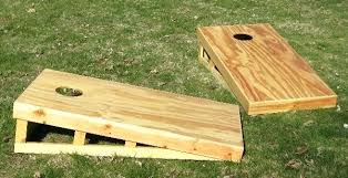 Wooden Corn Hole Game Corn Hole Bean Bags Bean Bag Game Toss Specifications Corn Hole 79