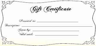 Travel Gift Certificate Template New Mothers Day Gift Certificate