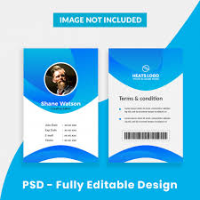 Company Id Card Template Id Cards Vectors Photos And Psd Files Free Download