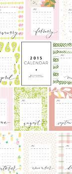 2015 Calendar Free Printable This Little Street This