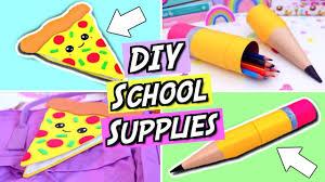 diy school supplies fun and easy diy back to school supplies how to make emoji school supplies