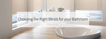 choosing the best blinds for your bathroom