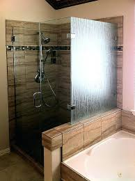 plano bath and glass pattern glass shower enclosure bamboo plano bath and glass reviews