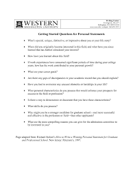 Personal Statement Outline Fresh Personal Statement Essay Examples For College 9 Writing A